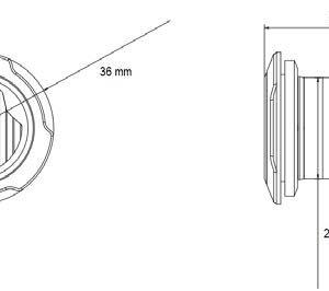 UR03 Prikrivena LED bljeskalica - Matins