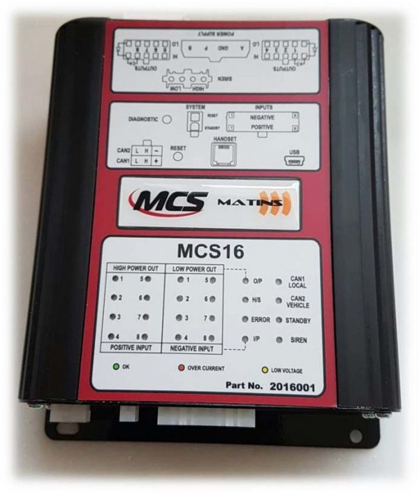 Univerzalni CAN BUS modul MCS 16