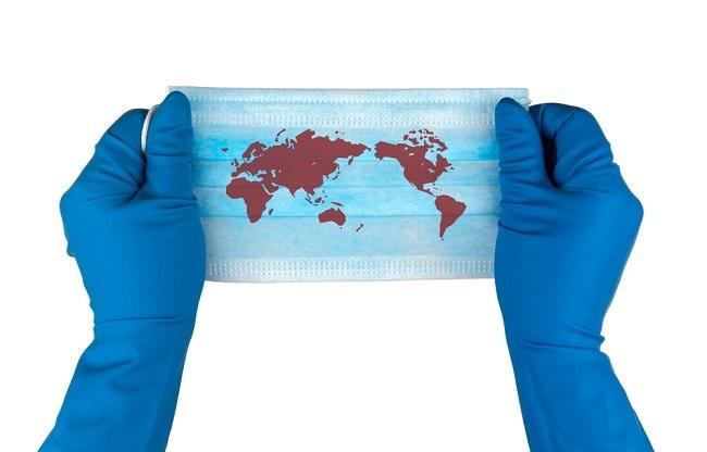 Pandemija se širi cijelim svijetom!  Ostani doma jer biti dio negativne statistike nije cool